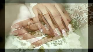 Красивый маникюр для свадьбы и выпускного