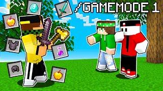 2 SPEEDRUN HACKER vs 2 CACCIATORI in CREATIVA - Minecraft ITA