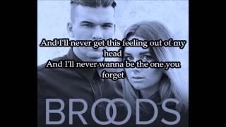 Broods - L.A.F. (Lyrics)