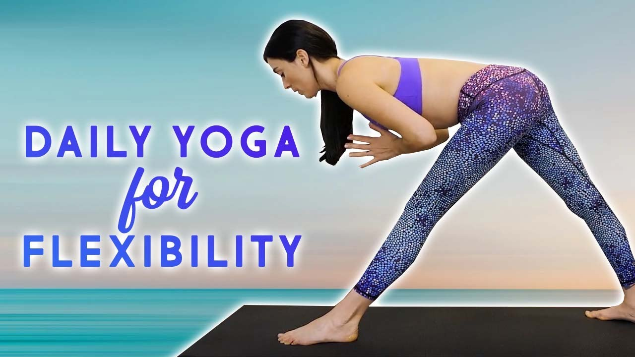 Yoga for Flexibility, Daily Routine, Low Back Pain Relief, Controlled Range of Motion, Leg Stretches