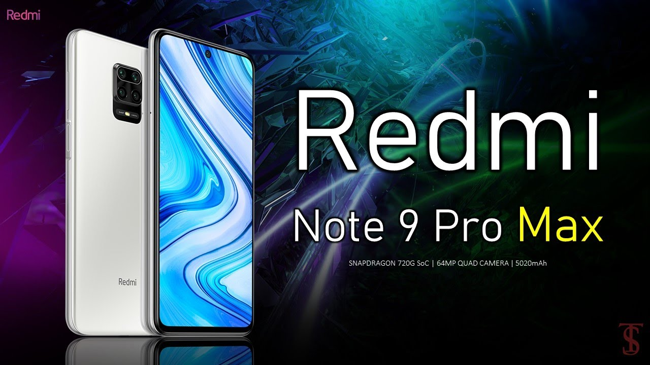 Redmi Note 9 Pro Max Price Official Look Camera Specifications Features And Availability Details Youtube