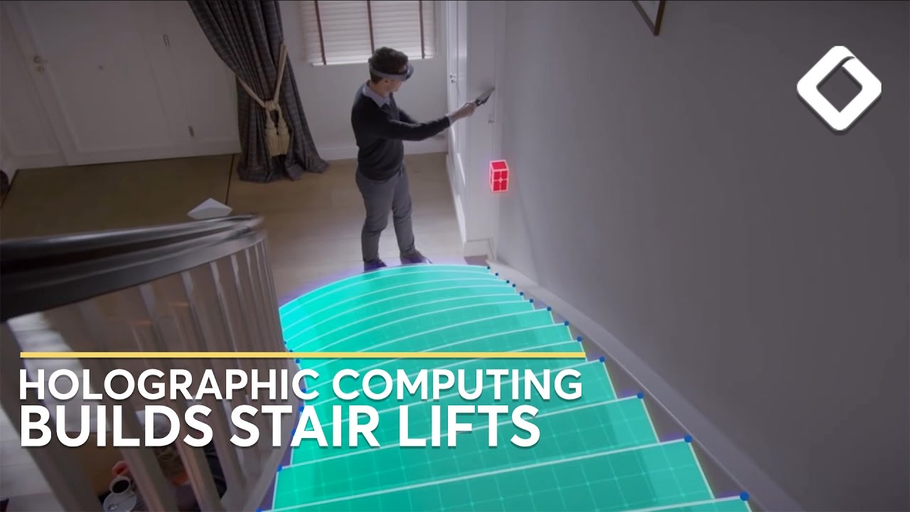 Build the Perfect Home Stairlift with Help From AR