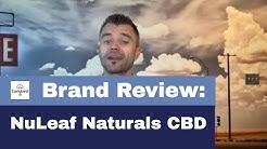 NuLeaf Naturals Full Spectrum CBD Oil + 25% Off Coupon Code