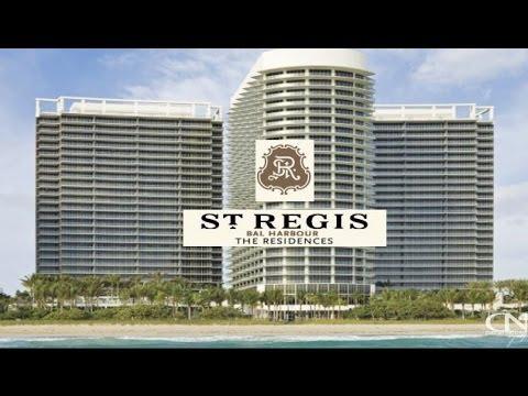 St Regis Bal Harbour Condo Residences Miami Beach For 9703 Collins Avenue
