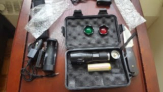 Тактический Фонарь AloneFire G700 E17 XM-L T6 Zoomable Cree Led Flashlight Torch Tactical light