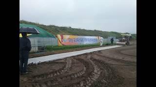 합천군 마늘 기계 줄파종 시범사업 (강농 마늘파종기)