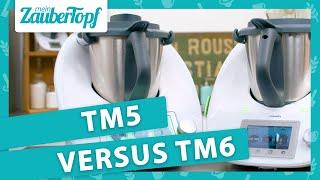 TM5® gegen TM6: Wir vergleichen die Modelle von Thermomix®