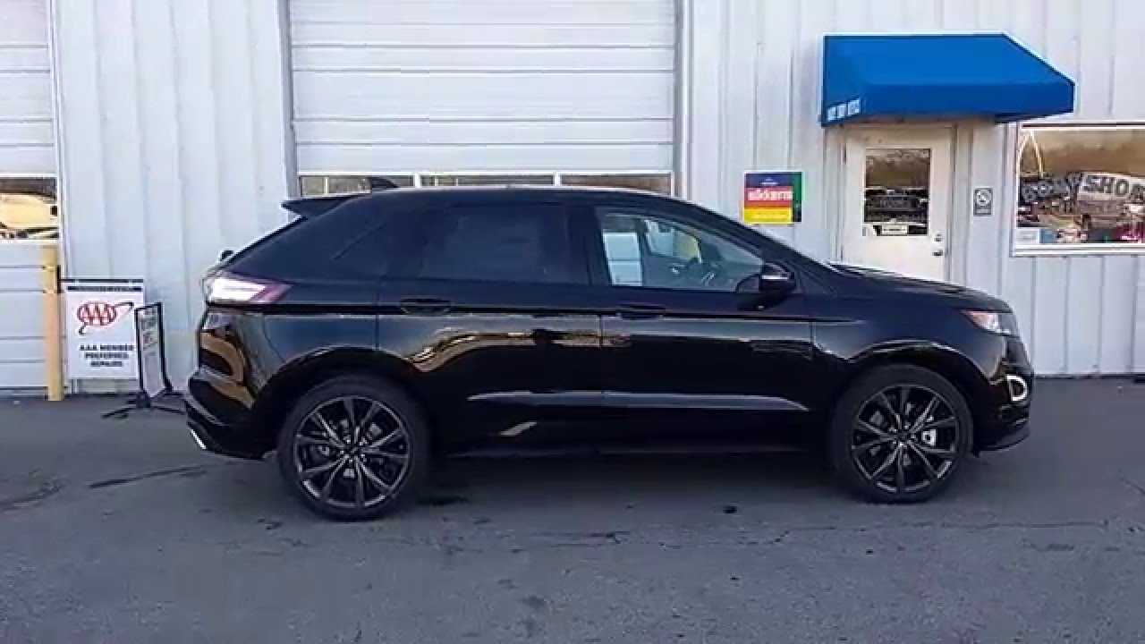Blacked Out Ford Edge >> Tuxedo Black 2015 Edge Sport AWD | 2.7L EcoBoost | 401A | Driver's Pkg | Panoramic Vista Roof ...