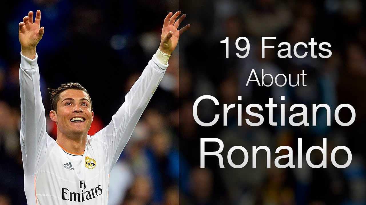 Cristiano Ronaldo 50 Facts