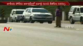 Central Home Minister Rajnath Singh Reached Hyderabad to Attend All States DGP's Conference || NTV
