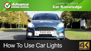 How To Use Car Lights  |  Learning to drive: Car Knowledge