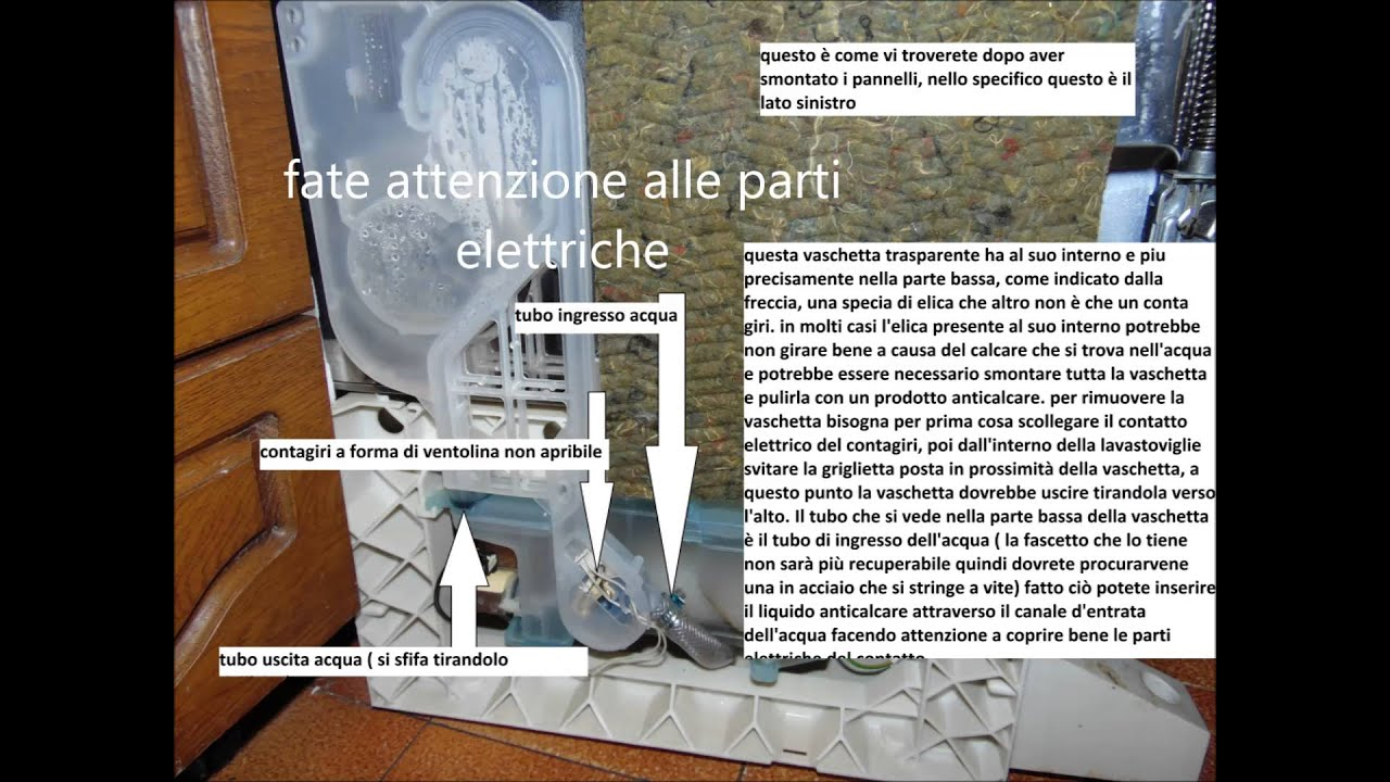 Video manuale lavastoviglie ariston hotpoint