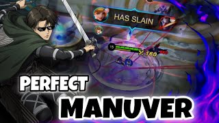 THE MOST BEAUTIFUL AND PERFECT MANUVER ‼️ Fanny Montage   MLBB