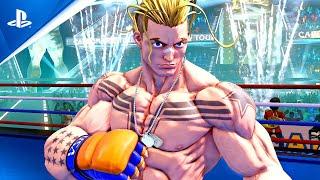 Street Fighter V: Champion Edition - Luke Announcement Trailer | PS4
