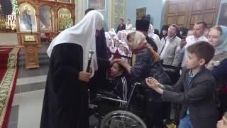 Патриарх Кирилл совершил молебен в Троицком монастыре г. Бирска