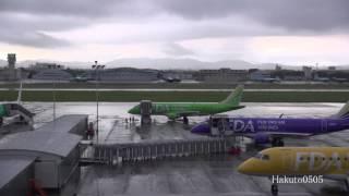FDA Embraer ERJ-170 早朝の県営名古屋空港