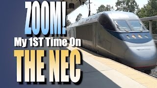 My 1st Time Railfanning The Northeast Corridor