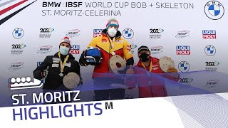 Friedrich is a 'record machine' in St. Moritz | IBSF Official