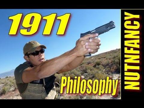 """1911 Handgun Philosophy of Use"" by Nutnfancy"