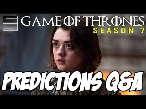 Game of Thrones Season 7 Predictions / Theories Q&A And Giveaway | SmokeScreen