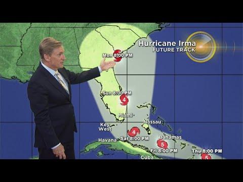 Tracking Hurricane Irma 09/06/17 11 PM