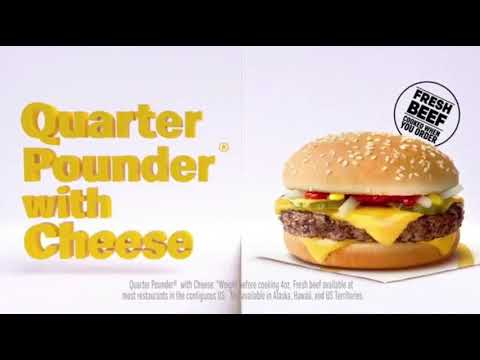 McDonald's 2 for 5 Mix & Match Deal Commercial