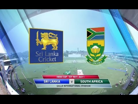 Hero Cup | Sri Lanka vs South Africa | 1st Test, Day 1 build up