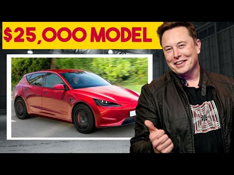 FINALLY!!! Chinese $25000 Tesla Model 2 Is Coming Sooner Than You Expected