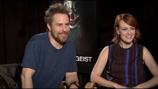 "Poltergeist's Sam Rockwell and Rosemarie DeWitt Play ""Save or Kill"""
