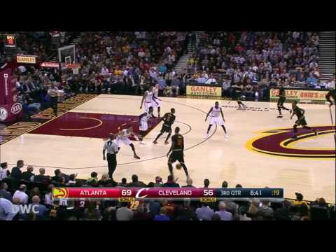 Thabo Sefolosha Defense On LeBron James, November 8, 2016