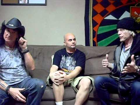 Michael Schenker & Robin McAuley interview, Part 2 of 2: March 16, 2012 (San Antonio, Tx.)