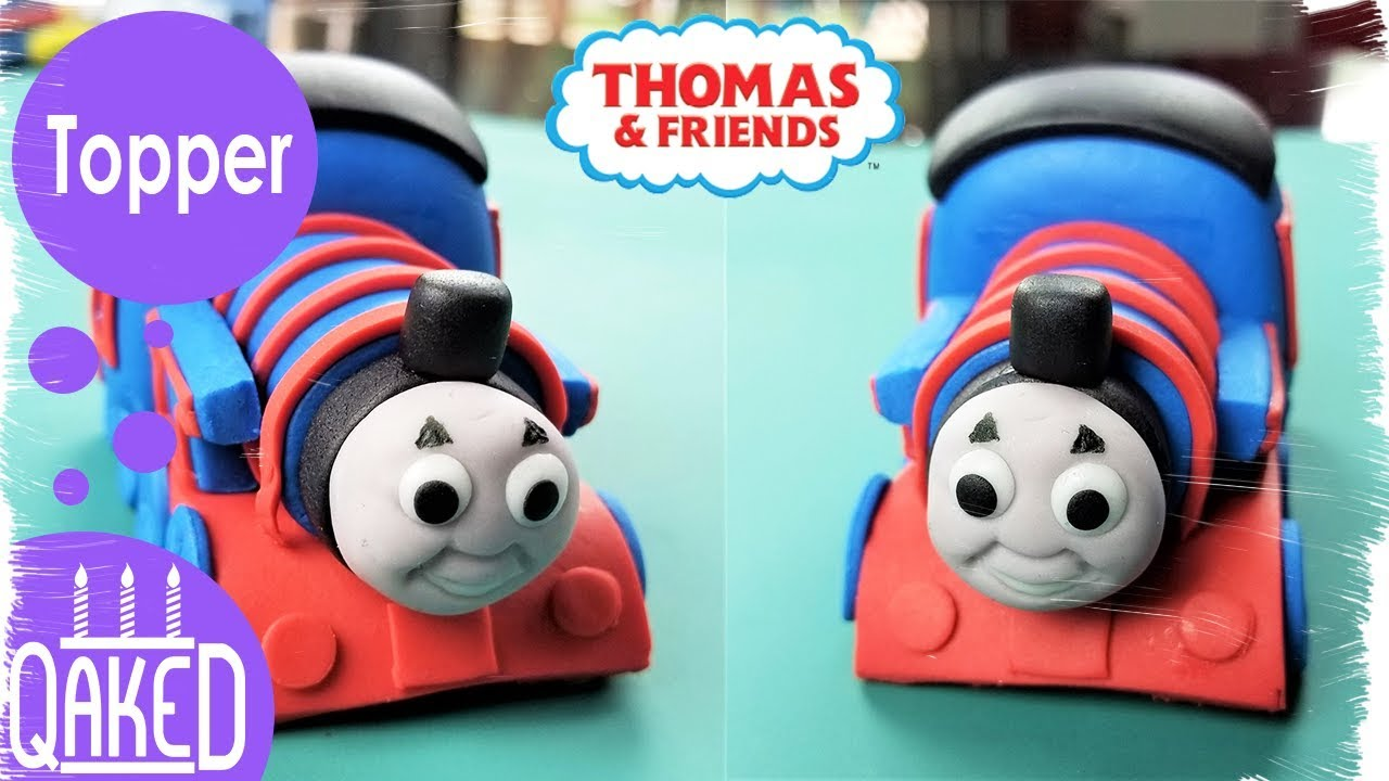 How To Make A Thomas The Train Fondant Cake Topper Cake Topper