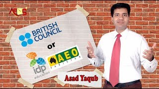 vuclip IELTS IDP Vs British Council | Whats the difference Easier Harder Better | Asad Yaqub