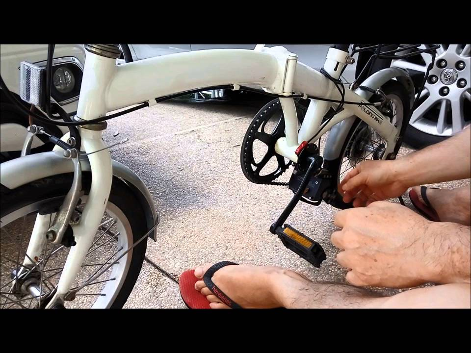 Pasang Mini On Kit Motor Ke Sepeda Lipat Menjadi Sepeda Listrik Youtube