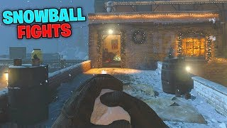 The CHRISTMAS GAME MODE in Modern Warfare! (MW Snowfight)