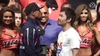 HIGHLIGHTS: Mayweather vs Pacquiao weigh-in