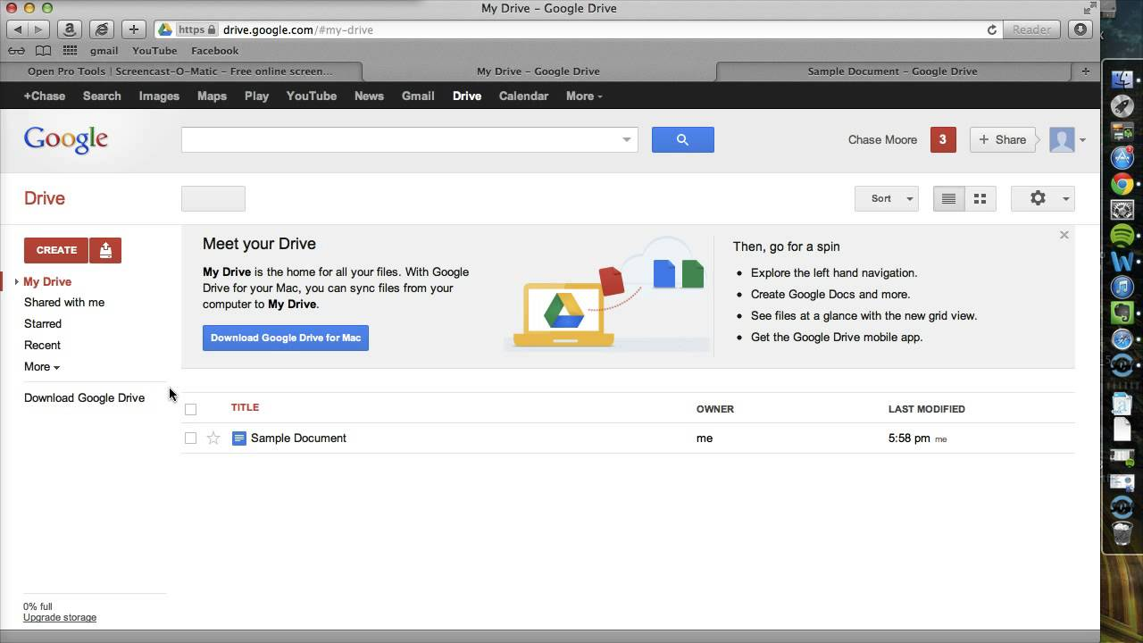 how to add non youtube videos to google drive