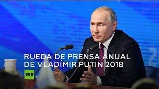 Gran rueda de prensa anual de Vladímir Putin 2018 (Español)