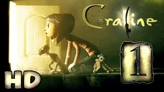 Coraline Walkthrough Part 1 (PS2) ~ Movie Game * HD *