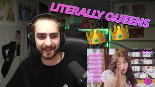 Reacting to Red Velvet  - Queens Archive (Group, Wendy, Yeri…