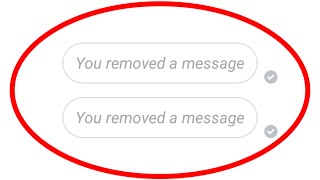 How To Unsend Messages(Remove For Everyone) On Facebook Messenger For All Android Mobile & Pc
