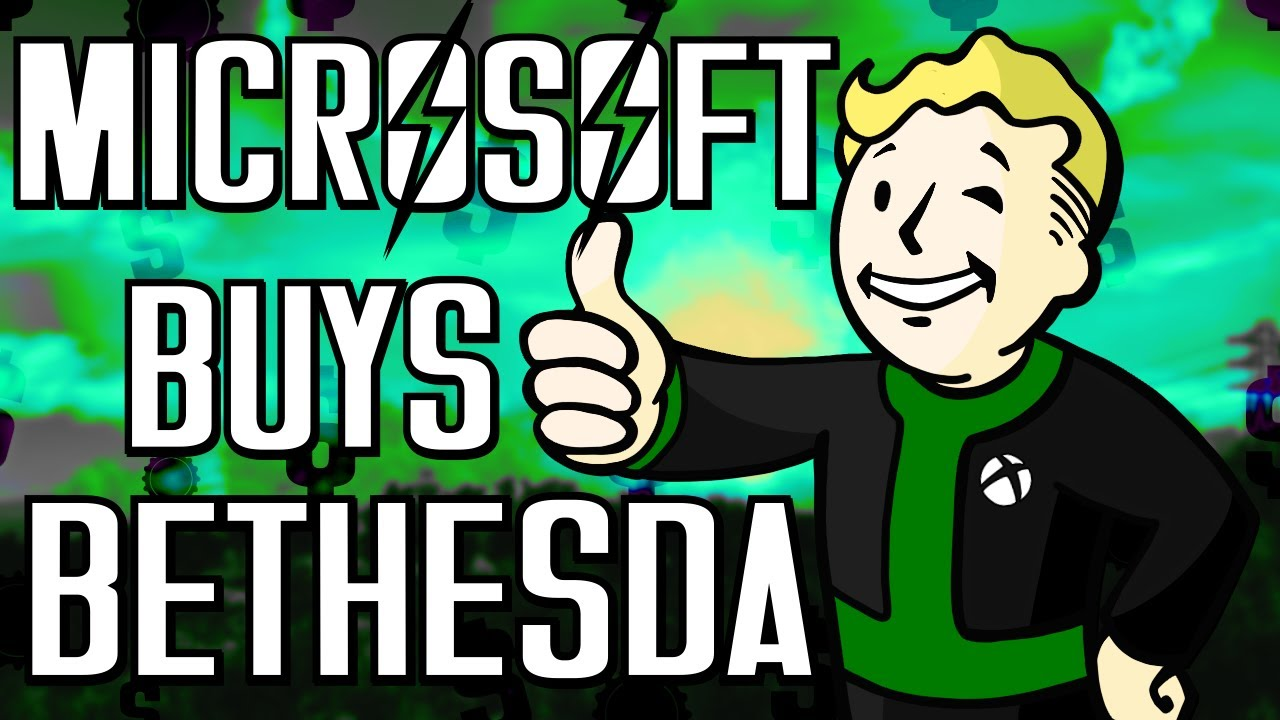 Download Bethesda to Join Team Xbox After HUGE Microsoft Purchase   Review, Thoughts & Speculation