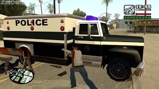GTA San Andreas - How to get the Enforcer at the very beginning of the game - Video #2