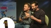 Hugh Jackman And Taron Egerton play Initial Reaction