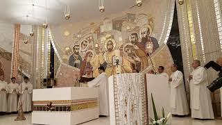 Dedicació del nou altar de la Parròquia de St. Julià i Sant Germà de Lòria