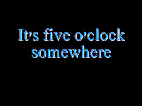 Alan Jackson and Jimmy Buffett - It's Five O' Clock Somewhere