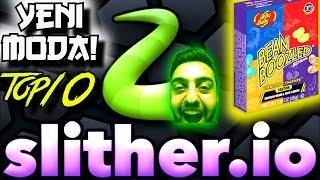 Yeni Moda Slither.io Cezali Oyun | Agar.io ya 1000 basar | ilk 10 | Oyun PC Türkçe