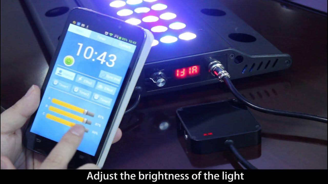 Lt Sanrise Led Aquarium Light With Wifi App Control
