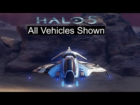 Halo 5 - All Vehicles and REQ Variants Shown (Halo 5 Vehicle Showcase)