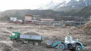 MB SK 8x8 dump truck needs help